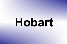 Hobart name image