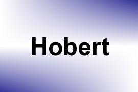 Hobert name image