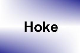 Hoke name image