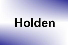 Holden name image
