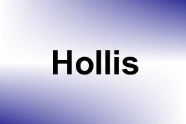 Hollis name image