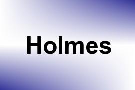 Holmes name image