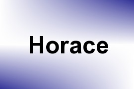 Horace name image