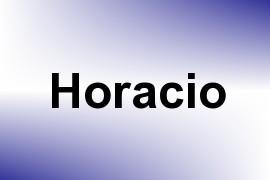 Horacio name image