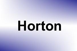 Horton name image
