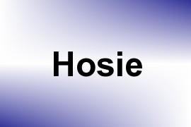 Hosie name image