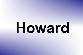 Howard name image