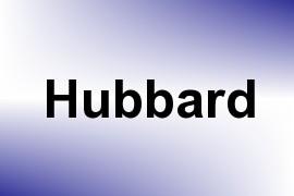 Hubbard name image