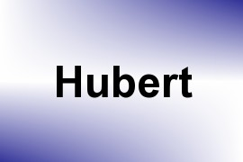 Hubert name image