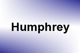 Humphrey name image