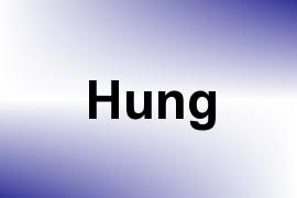 Hung name image