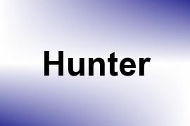Hunter name image