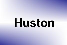 Huston name image