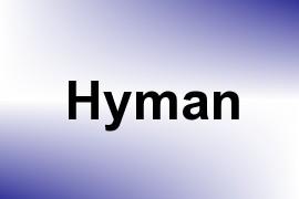 Hyman name image