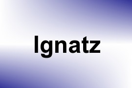 Ignatz name image