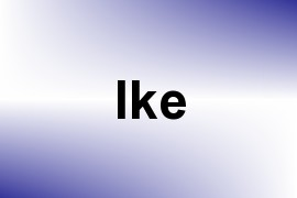 Ike name image