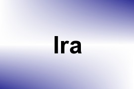 Ira name image