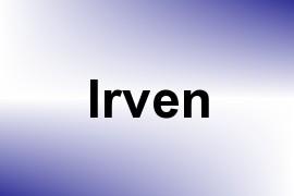 Irven name image