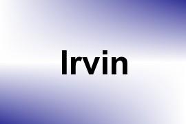 Irvin name image