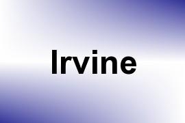 Irvine name image