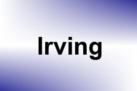 Irving name image