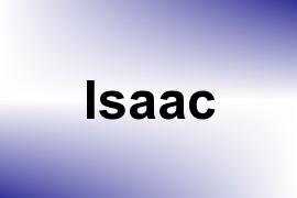 Isaac name image