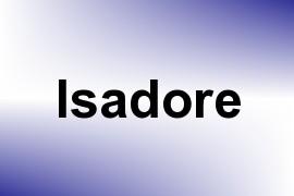 Isadore name image