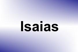Isaias name image
