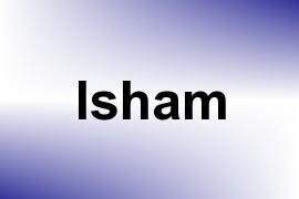Isham name image