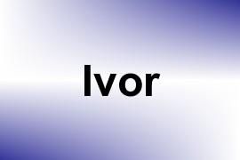 Ivor name image
