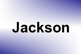 Jackson name image