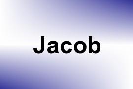 Jacob name image