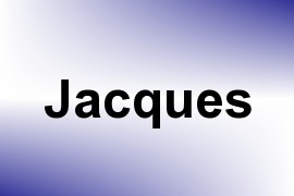 Jacques name image