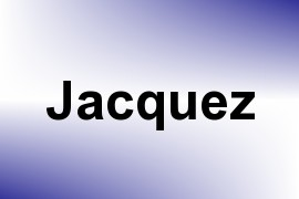 Jacquez name image