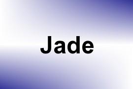 Jade name image