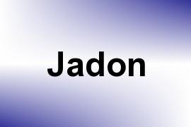 Jadon name image