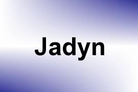 Jadyn name image