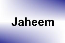 Jaheem name image