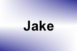 Jake name image