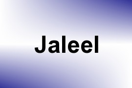 Jaleel name image