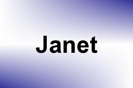 Janet name image