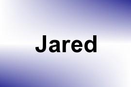 Jared name image