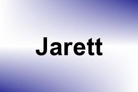 Jarett name image