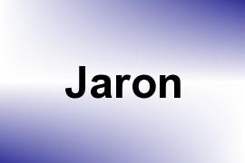 Jaron name image