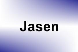 Jasen name image
