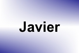 Javier name image