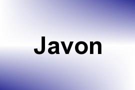 Javon name image
