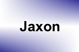 Jaxon name image