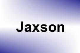 Jaxson name image