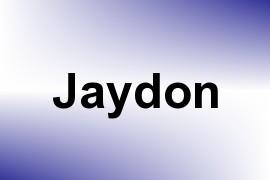 Jaydon name image
